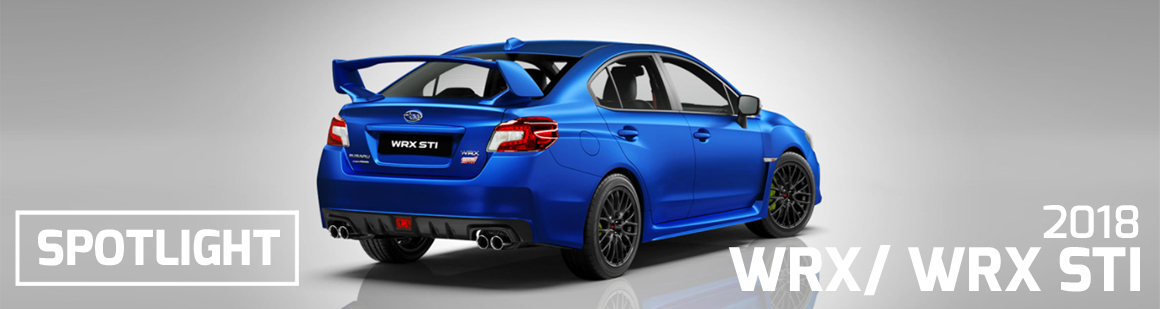 Spotlight image of the WRX STI