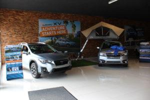 cmh subaru east rand- Silver Subaru XV and Forester vehicle's