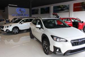 cmh subaru east rand- Subaru dealership showroom floor
