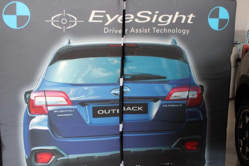 CMH Subaru- Eye sight demo