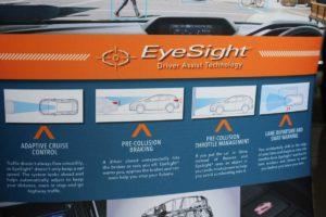 CMH Subaru- Eyesight info