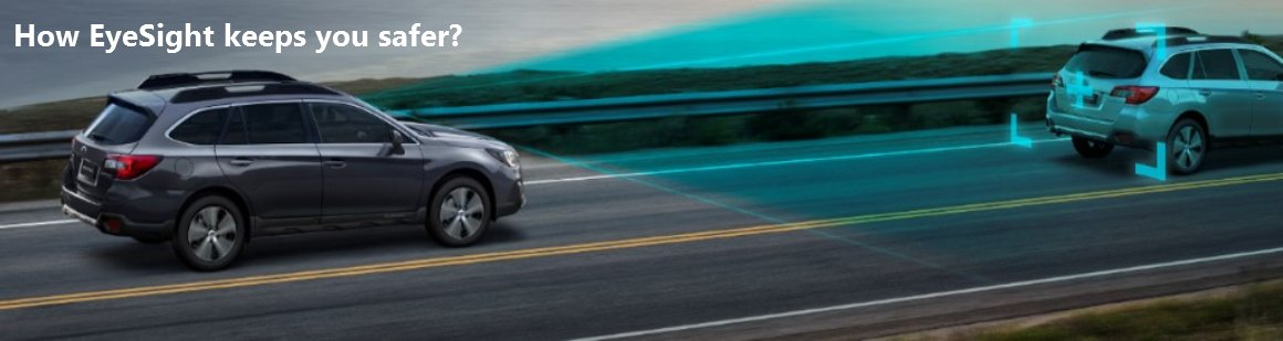 Subaru Eyesite Banner - CMH Subaru