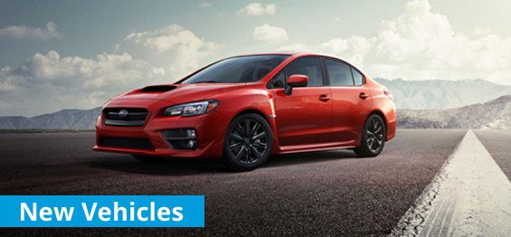 New Subaru vehicles tiles