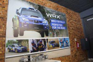 CMH Subaru- WRX Rally poster